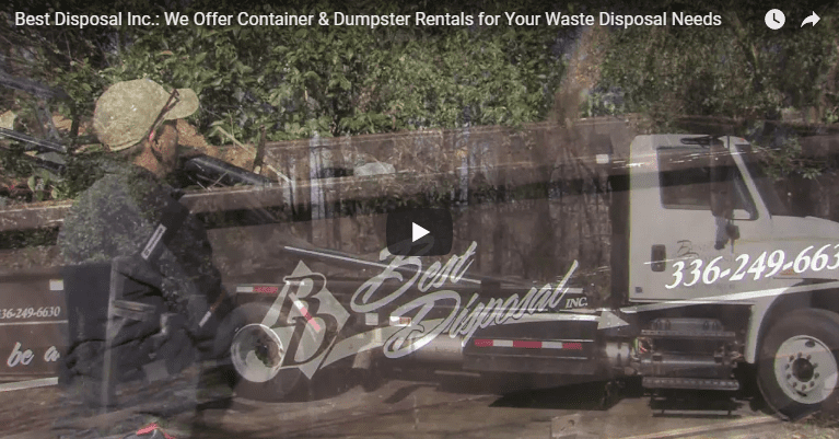 We Have Container & Dumpster Rentals That Are Perfect for Your Waste Disposal Needs