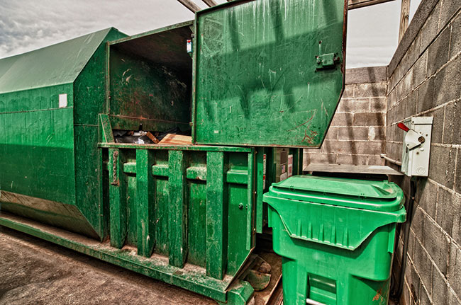Impress Your Customers by Keeping Clean with Trash Compactors
