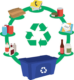 we are your choice for recycling options