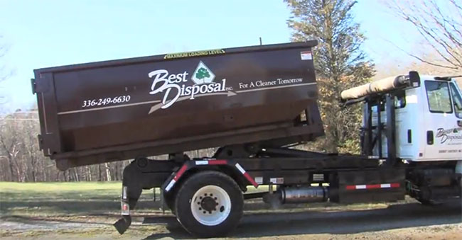 Dumpster Rentals to Fit Your Needs from Best Disposal Inc.